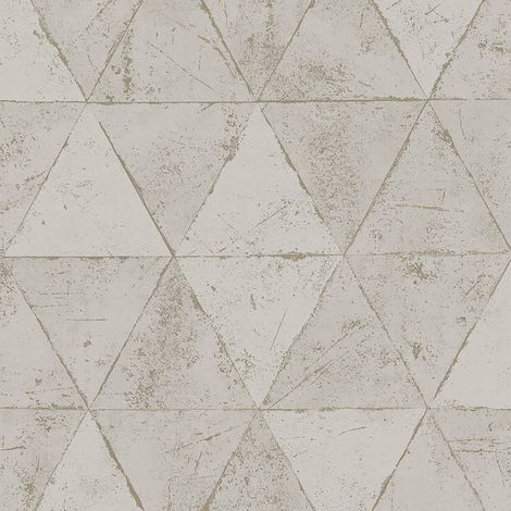 Papier Peint Intissé Triangle Béton