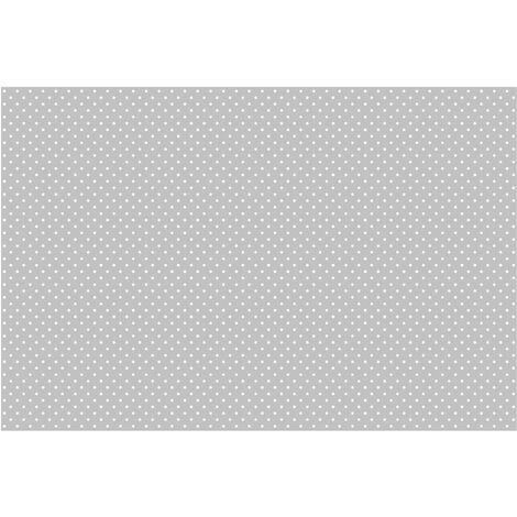 Papier peint intissé - White dots on grey - Mural Large