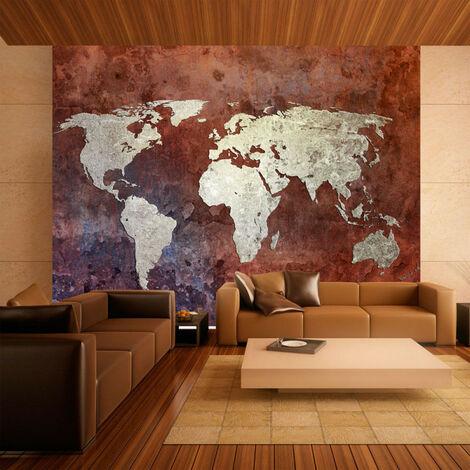 Papier peint - Iron continents 350x270
