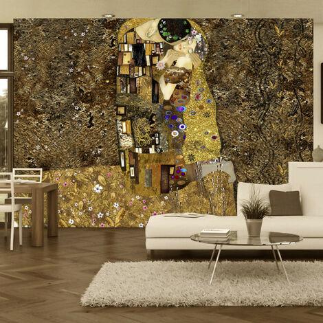 Papier peint - Klimt inspiration - Golden Kiss 300x210