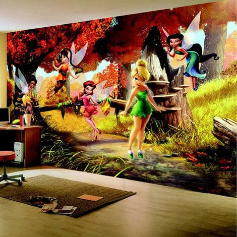 Papier peint La Forêt d'automne Disney Fairies 360X255 CM