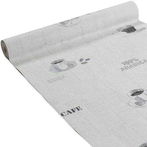 papier peint lambris coffee gris souris moyen 266848. Black Bedroom Furniture Sets. Home Design Ideas
