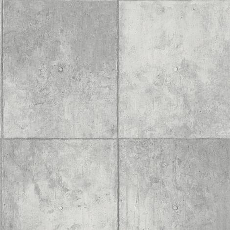 Papier peint moderne Papier peint tendance Tapisserie moderne papier peint couloir Papier peint intissé Gris 301791 - 10,05 x 0,53 m