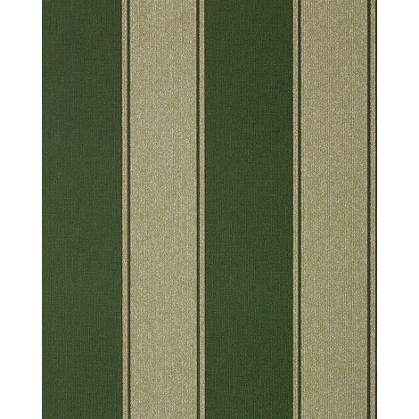 Papier Peint Neo Baroque Edem 753 38 Raye Precieux Vert Dore Ombrage Platine