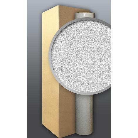 Papier peint non-tissé blanc à peindre EDEM 304-60 à relief de type Papier ingraine 106 m2