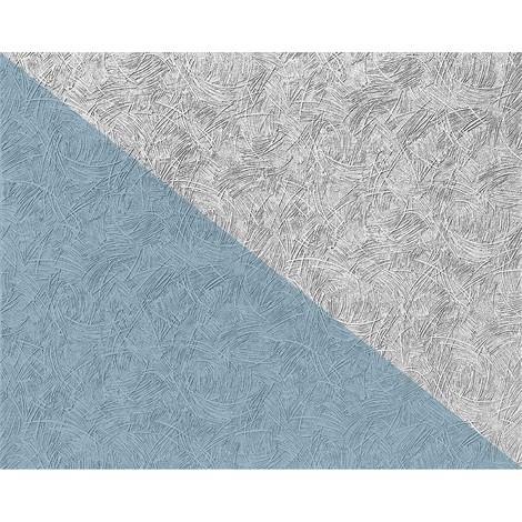 Papier peint non-tissé blanc à peindre EDEM 308-60 à relief aspect de crépi 26,50 m2