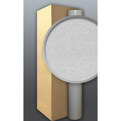 Papier peint non-tissé blanc à relief à peindre 1 carton à 4 rouleaux 106 m2 EDEM 300-60