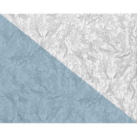 Papier peint non-tissé EDEM 80317BR60 blanc à peindre à relief aspect de crépi 1 rouleau 26,50 m 2
