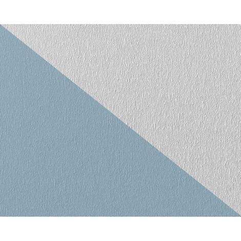 Papier peint non-tissé EDEM 80378BR60 blanc à peindre texturé décorative 26,50 m2