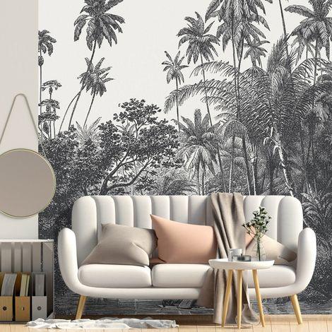 Papier peint panoramique 5 lés motif Jungle Tambapanni - L240xH270cm