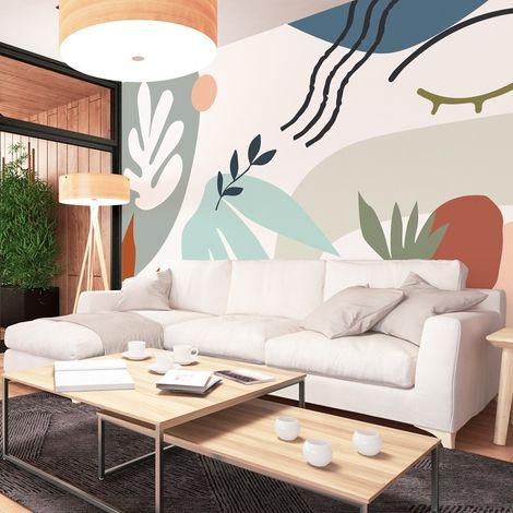 Papier peint panoramique 9 lés Fresque Art Moderne Matisse Face - L432xH270cm