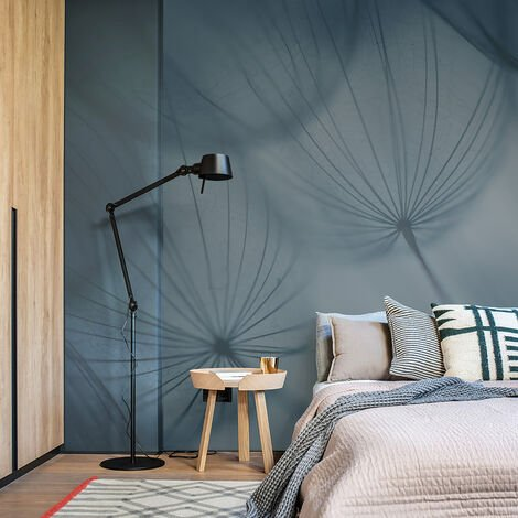 Papier peint panoramique Dandelion 425x250 - Bleu