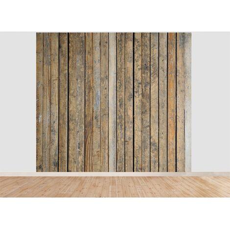 Papier peint panoramique Palette 300 x 270 cm - Bois