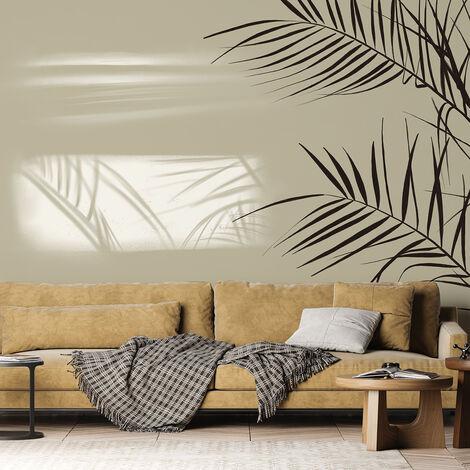 Papier peint panoramique Shadow 255x250 - Gris