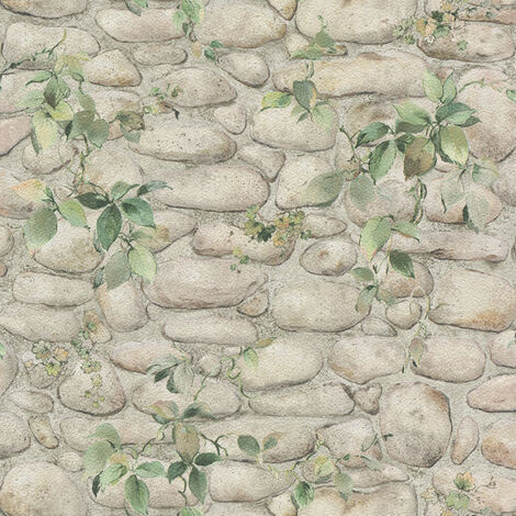 Papier peint Pierre AS Création Dekora Natur 6 8344-16 BRICOFLOR