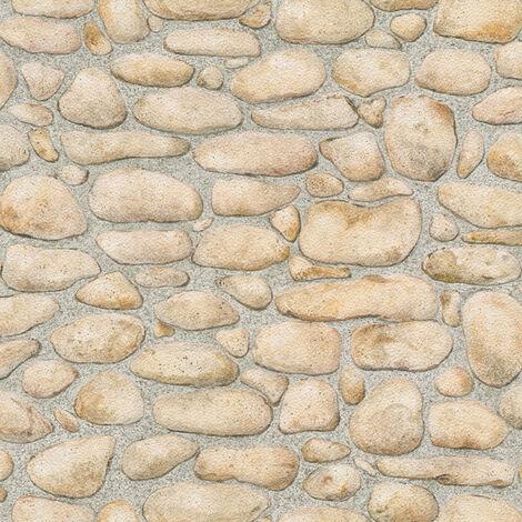 Papier peint Pierre AS Création Dekora Natur 6 8345-15 BRICOFLOR