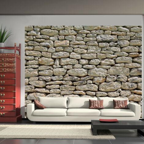 Papier peint - Pierre provençale 200x154
