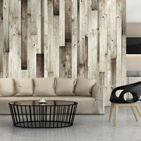 Papier peint - Plancher en bois 100x70