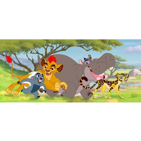 Papier peint poster La garde du Roi lion Disney intisse 202X90 CM