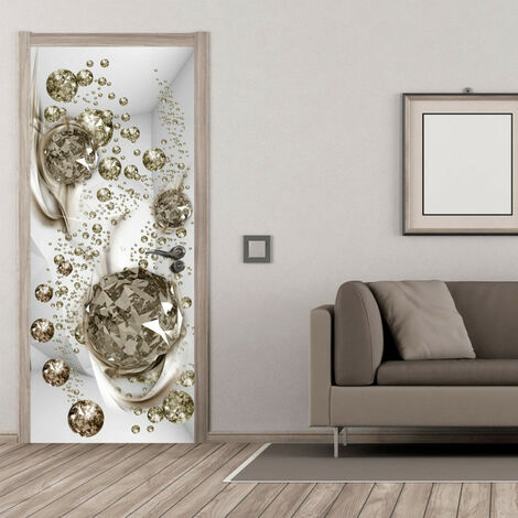 Papier-peint pour porte - Photo wallpaper - Bubble abstraction I