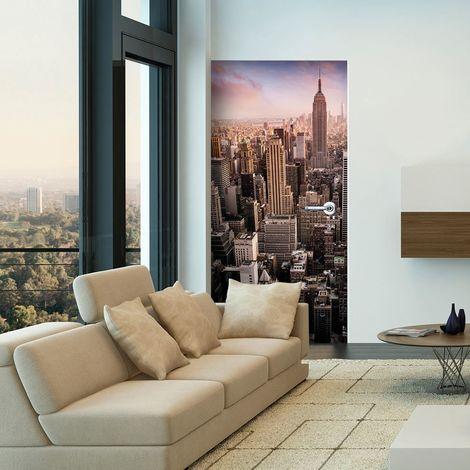 Papier-peint pour porte - Photo wallpaper - New York I