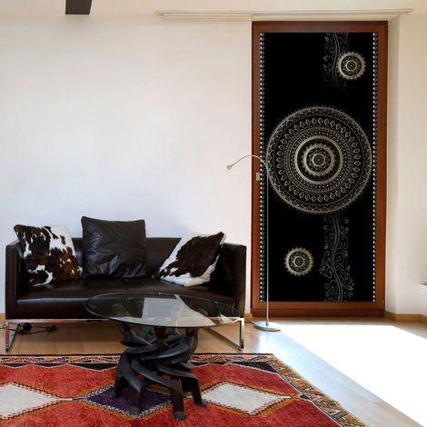 Papier-peint pour porte - Photo wallpaper - Pattern - circles I
