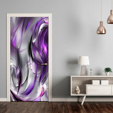 Papier-peint pour porte - Photo wallpaper - Purple abstraction I