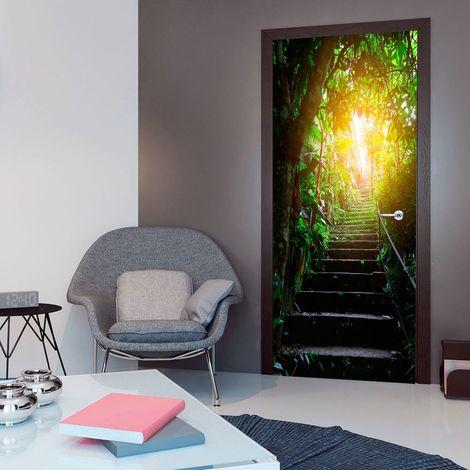 Papier-peint pour porte - Photo wallpaper - Stairs in the urban jungle I