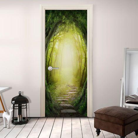Papier-peint pour porte - The Forest of Fantasy