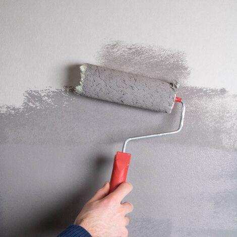 Papier peint rénovation intissé à peindre XL 2500 x 100cm Blanc