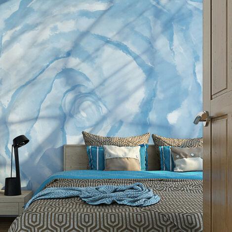 Papier peint - rose (bleu) 200x154