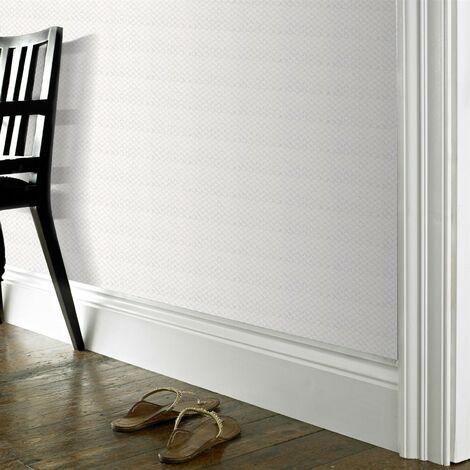 """main image of """"Papier peint support papier relief Gaufré 1005 x 52cm Blanc"""""""