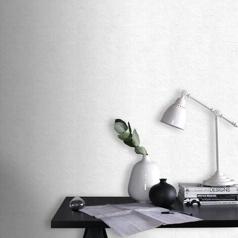 Papier Peint Plaster Blanc 1005 X 52cm 5576849