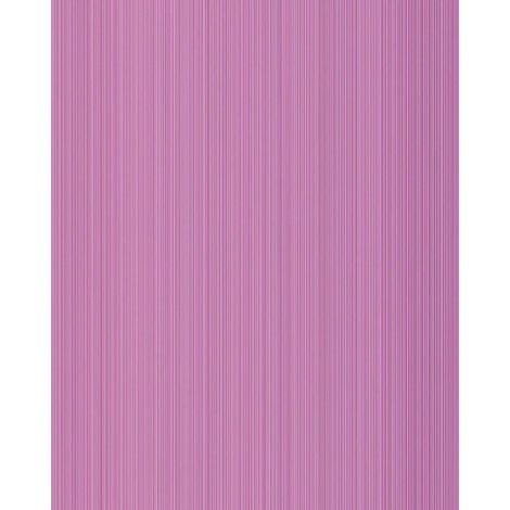 Papier peint unicolore EDEM 598-22 papier peint texturé rayures mat lilas lilas-rouge violet de sécurité 5,33 m2