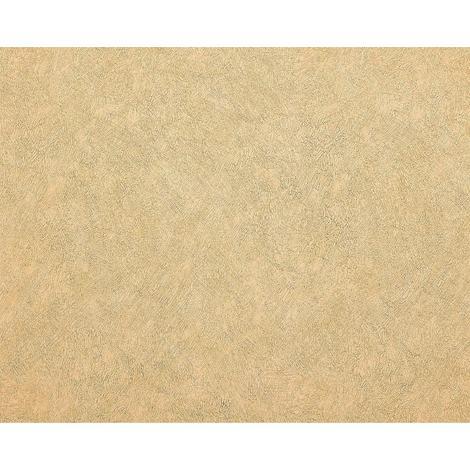 Papier peint unicolore EDEM 9009-22 Papier peint intissé gaufré avec un dessin abstrait brillant ivoire beige 10,65 m2