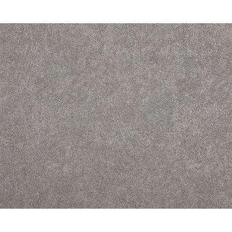 Papier peint unicolore EDEM 9009-24 Papier peint intissé gaufré avec un dessin abstrait brillant gris argent 10,65 m2