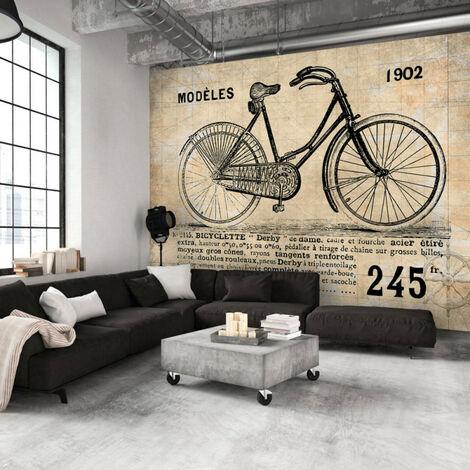 Papier peint - Vélo ancien 300x210
