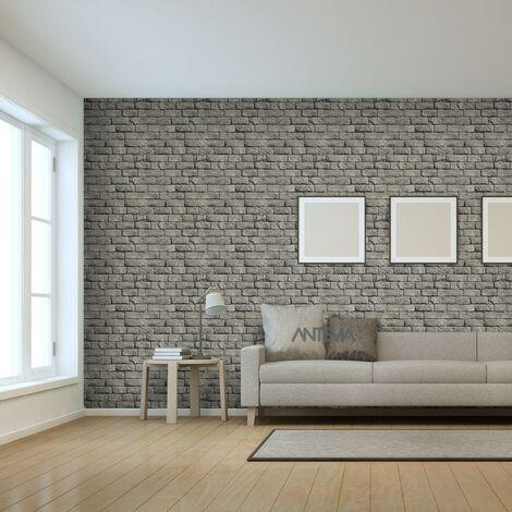 Papier peint Vinyle Mur pierre