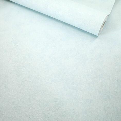 Papier peint vinyle sur intissé - Intemporel - Ciel bleu pastel nacré - Rouleau(x)