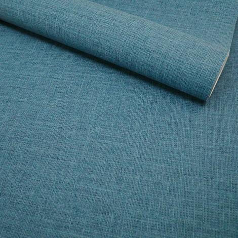 Papier peint vinyle sur intissé - Nature colors - Toile bleu nuit - Rouleau(x)