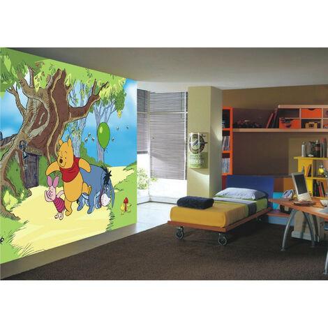 Papier peint Winnie l'Ourson & Amis Disney 360X255 CM