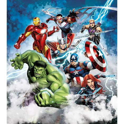 Papier peint XL intisse Disney Marvel Avengers180X202 CM