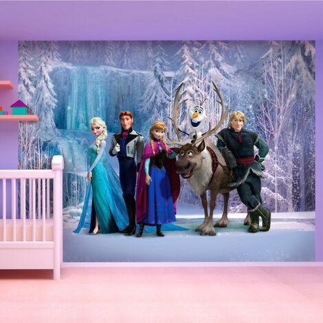 Papier peint XXL intisse La Reine des Neiges Disney Frozen 360X255 CM