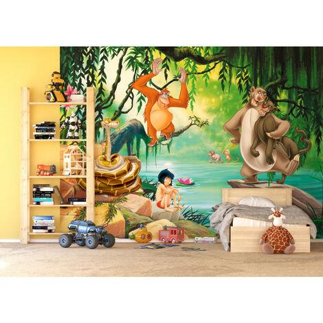 Papier peint XXL intisse Le Livre de la Jungle Disney 360X255 CM