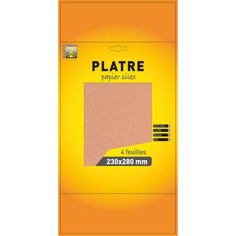 Papier silex grain fin 0 - 4 feuilles - Mob / Mondelin