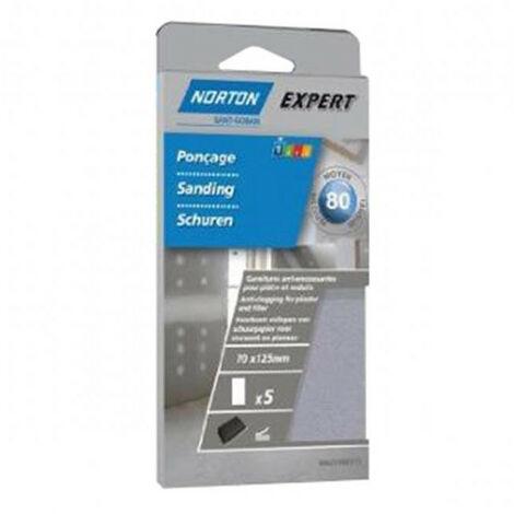 Papiers abrasifs auto agrippant pour plâtre Expert NORTON - plusieurs modèles disponibles