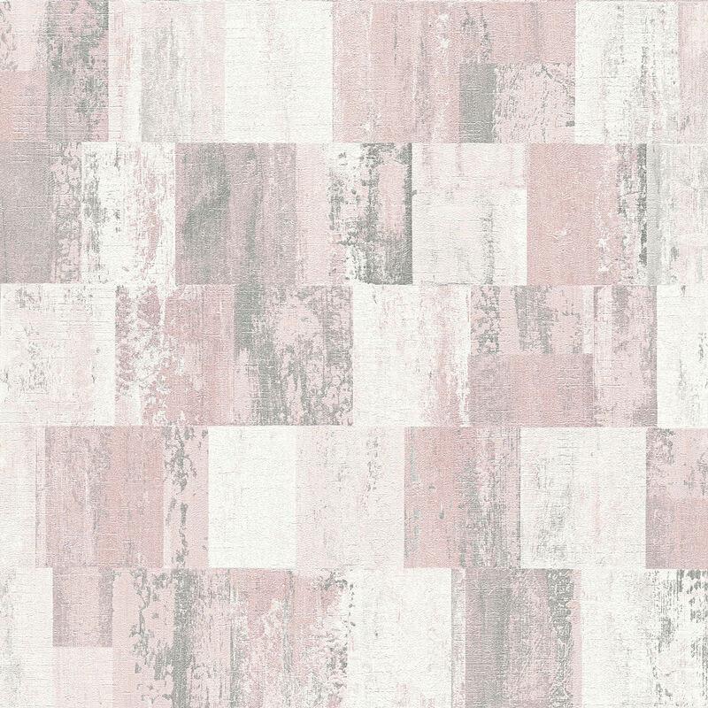 5,24 €//1qm Nappes Papier Peint losange gris turquoise Livingwalls Titanium 36000-2