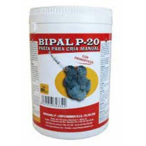 Papilla de cria manual para pichones BIPAL P 20 800 gr.