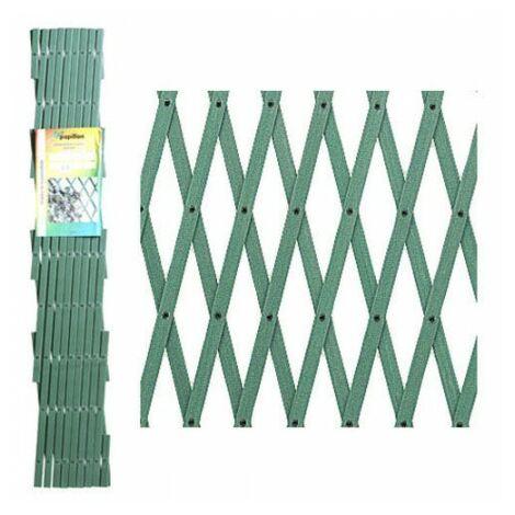PAPILLON JALOUSIE PVC VERT 3X1M