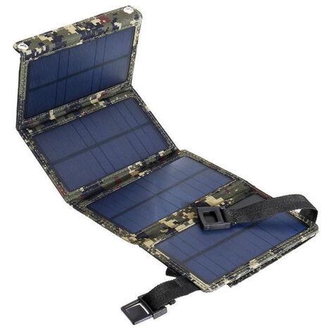 Paquet de generation d'energie de panneau solaire monocristallin 20W solaire 4 paquet de pliage chargeur de telephone portable paquet solaire exterieur etanche